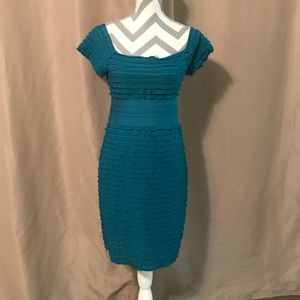 Medium Max Studio ruffle dress in teal